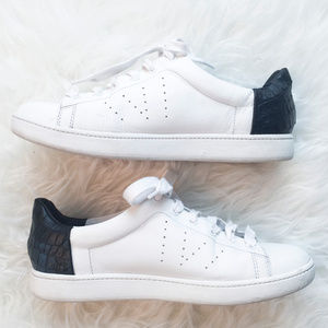VINCE Varin Leather Sneackers Lace-Up